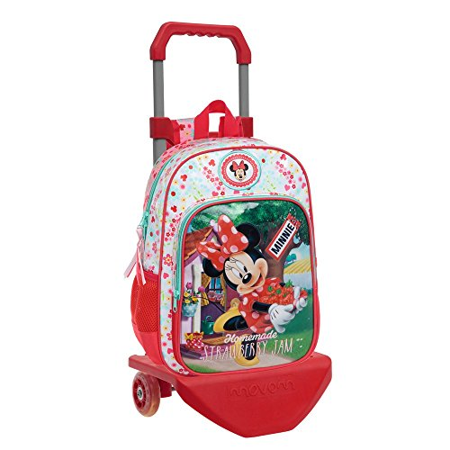 Walt Disney-Sac à dos avec chariot Strawberry Minnie