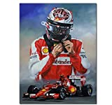 Vscdye Kimi Räikkönen Wandkunst Poster Bilder Poster und