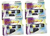 4pcs Fuji Quicksnap singolo uso fotocamera Flash X-tra 400asa 27exp