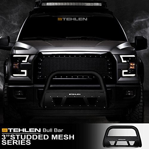 "Stehlen 714937183018 3"" Studded Mesh Series Push Bar"