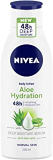 NIVEA Body Lotion, Aloe Hydration, For Normal Skin, 200ml