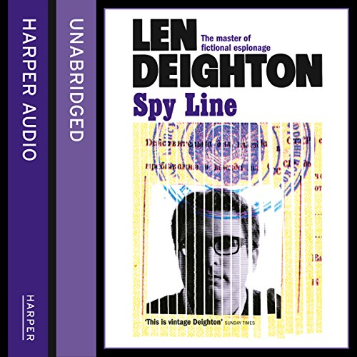 Spy Line audiobook cover art