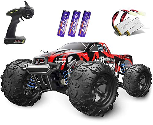Remote Control Cars, Terrain RC Car, Electric Remote Control Off Road Monster Truck,1:18 Scale 2.4Ghz Radio 4WD Fast 30+ MPH RC Truck, with 2 Rechargeable Batteries, Toys Gift for Kids, Boys &Adults