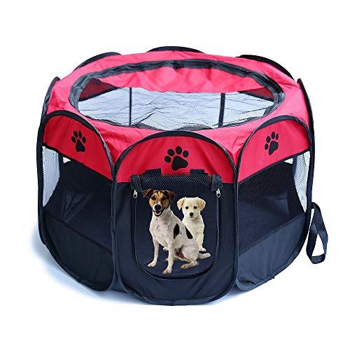 Jaula estilo parque para mascotas de Meiying, ideal para perros y gato