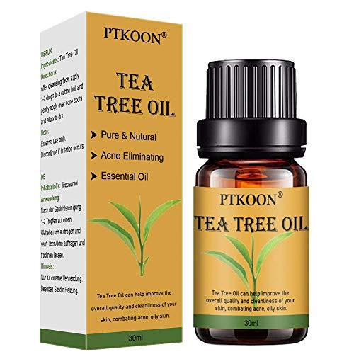 Teebaum öl,Akne Öl,Acne Serum,Anti-Akne-Behandlung,Ideal Gegen Unreine Haut,Anti Pickel,Gegen Akne,Entzündungshemmend,Antibakteriell, Hautsympathisch