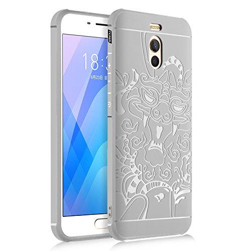 Funda® Firmeza y Flexibilidad Smartphone Carcasa Case Cover Caso para Meizu M6 Note(1)