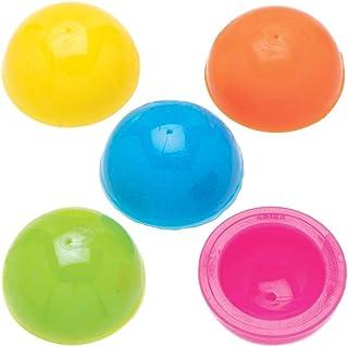 Baker Ross Mini Saltadores AT914 (paquete de 12) para bolsos de fiesta y pequeños juguetes para niños, surtidos