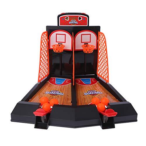 JAGENIE Mini Desktop Basketball Schießen Spiel Spielzeug Indoor Tisch Finger Auswurf Basketballplatz Schießen Sport Stressabbau Kinder Erwachsene Geschenk