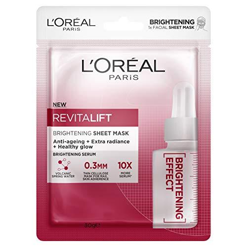 L'Oréal Paris Revitalift Brightening Sheet Mask, 30g