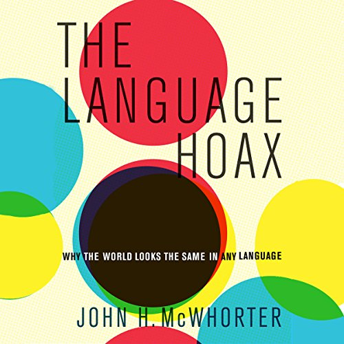 The Language Hoax audiobook cover art