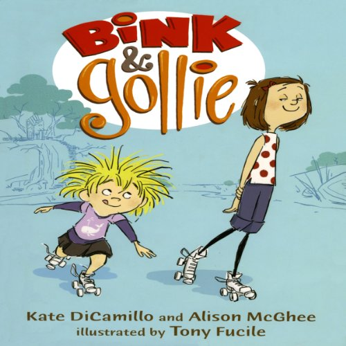 Bink & Gollie audiobook cover art
