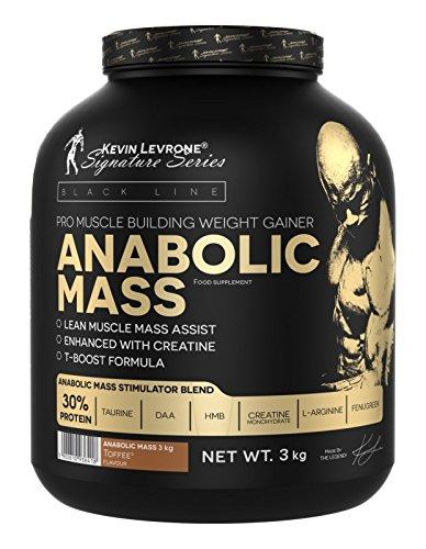 Kevin Levrone Black Line Anabolic Mass 3kg - Strawberry - MUSKELMASSE - BULK - PROTEIN