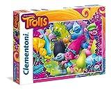 Clementoni - Puzzle 60 Piezas Trolls: a Frown is a Smile Upside Down (26958.7)