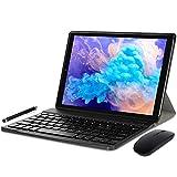 YOTOPT N10 Tablet 10 Pulgadas, Android 10.0 Procesador Octa-Core 1.6Ghz SC9863 4G LTE Tablet, 4GB RAM, 64GB ROM Tablets con Teclado y Ratón, GPS/OTG/Bluetooth, Negro