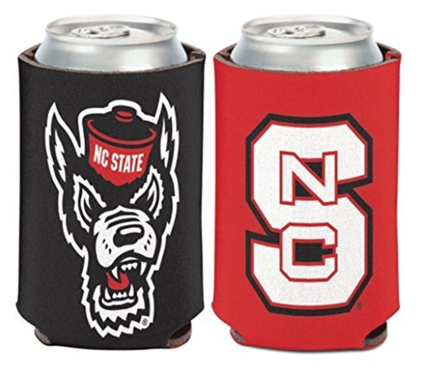 タッチフォージ闘争NCAA North Carolina State Wolfpack 1パック12オンス両面Can Cooler