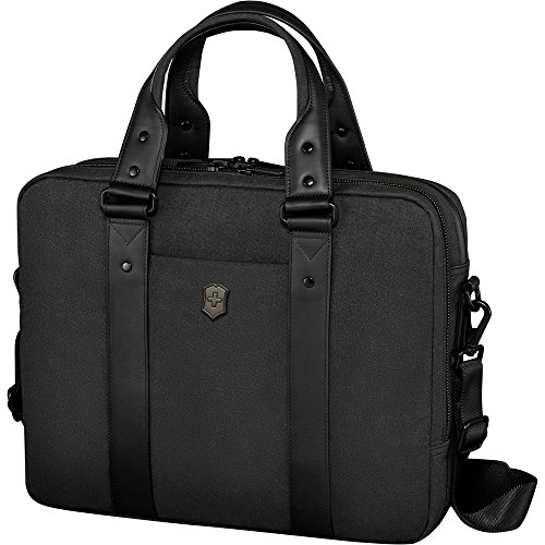 Victorinox Architecture Urban Bodmer Laptop Briefcase, Black, 12.2-inch