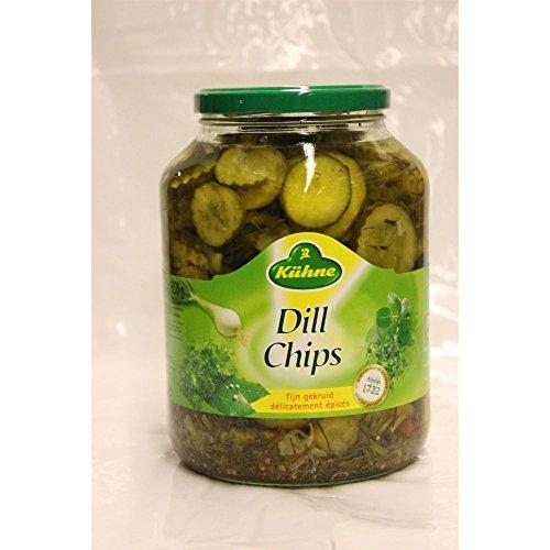 Kühne Dill Chips 1700ml Glas (Dill-Gurkenscheiben)