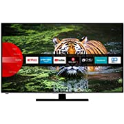 JVC LT-65VU6955 164 cm / 65 Zoll Fernseher (Smart TV inkl. Prime Video / Netflix / YouTube, 4K UHD mit Dolby Vision HDR / HDR 10 + HLG, Triple Tuner)