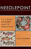 NEEDLEPOINT: 1-2-3 Quick Beginners Guide to Needlepoint! (Cross-Stitching, Crocheting, Embroidery, Knitting, Lace & Tatting Book 1) (English Edition)