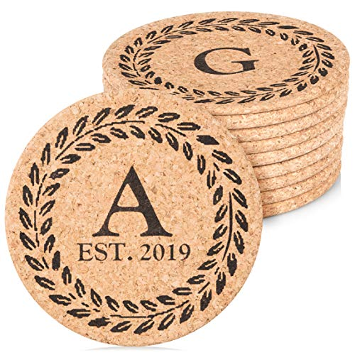 Personalized Cork Trivet Hot Pads