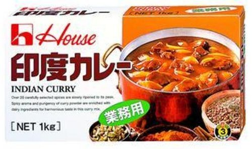 ハウス 印度カレー 1kg 業務用【入り数3】