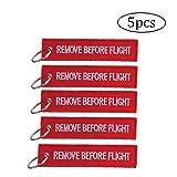 5 piezas de Quite antes del vuelo llavero de la etiqueta del equipaje de usos múltiples de doble cara del bordado de la aviación Llavero piloto de viajeros tripulación de cabina etiqueta de equipaje