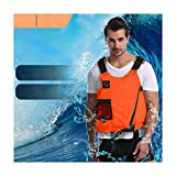 nanjingqin Adults Life Jacket Aid Vest, Kayak Ski Buoyancy Fishing Boat Series Vest, Sliding Lock Life Vests...