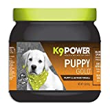K9 Power - Puppy Gold - Nutritional Supplement for Growing Puppies & Nursing Mothers - Targets Skeletal Structure, Muscular Formation, Organ Development (1 lb)