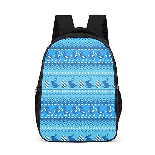 O5KFD & 8 eco rugzak Easter Rabbit rugzak laptop rugzak kinderen jongen - outdoor rugzak meisjes schooltas voor jongens