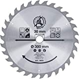 Kraftmann, 3955, Carbide lama sega circolare, diametro di 300 mm, 30 denti
