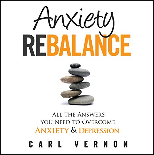 Anxiety Rebalance audiobook cover art