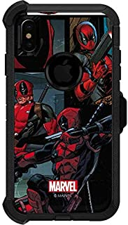 Skinit Decal Skin for OtterBox Defender iPhone Xs Max - Officially Licensed Marvel/Disney Deadpool Comic Design