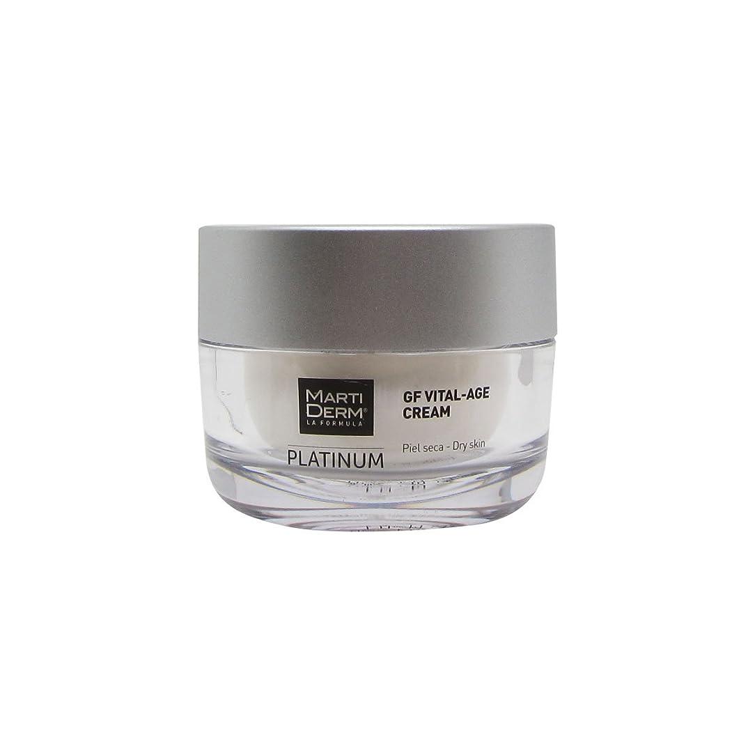 好きモザイク挨拶Martiderm Platinum Gf Vital Dry Skin Cream 50ml [並行輸入品]