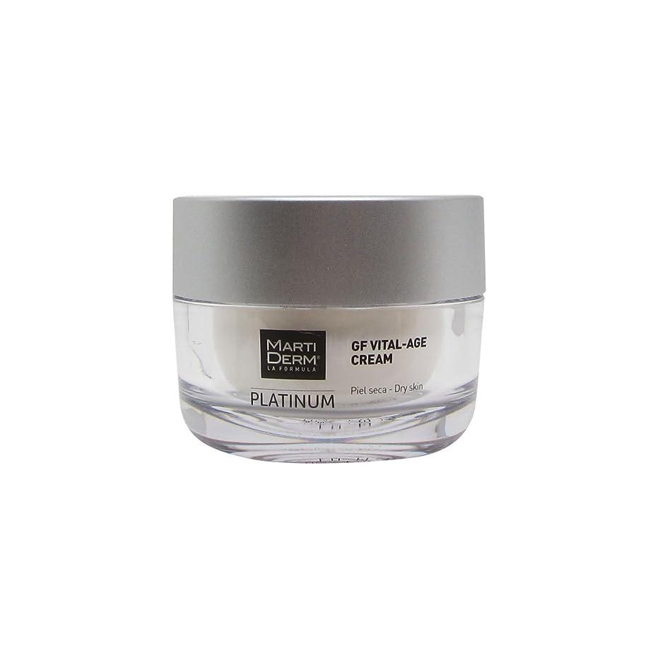 葉っぱマイコンコットンMartiderm Platinum Gf Vital Dry Skin Cream 50ml [並行輸入品]