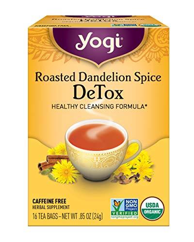 Yogi Tea, Roasted Dandelion Spice DeTox, 16 Count