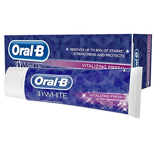 Oral-B 3D White Vitalize Toothpaste, 75ml
