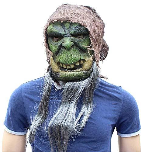 Tanxinxing Maske Halloween Halloween Festival Party Supplies Movie World of Warcraft Ipheral Latex-Maske