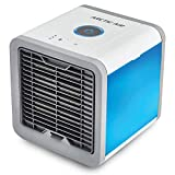 FOBHIYA® Mini Portable Air Conditioner with Built-In LED Mood Light, Arctic Air Personal