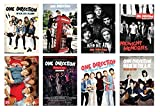One Direction Posters Manga Decor Live Room Bedroom Canvas Wall Art Print 8 PCS 11.5x16.5 Inch