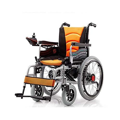 Inicio Accesorios Ancianos Discapacitados Silla de ruedas eléctrica plegable Ligero de doble función Portátil Anciano Scooter Operación simple Silla de ruedas para discapacitados segura y cómoda
