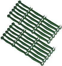 Basage 20 Stks Stake Arms voor Tomatenkooi, Verstelbare Plastic Plant Stake Connection Rod voor Elke 11mm Diameter Plant S...