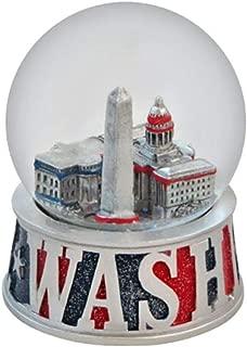 Topline Washington DC Snow Globe with Glitter Base