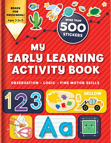 My Preschool Sticker and Activity Book: More Than 300 Stickers (Activity books)