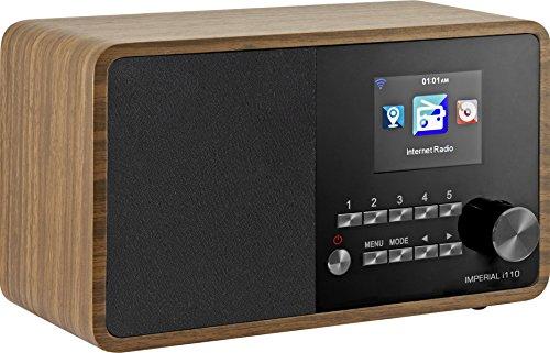 Imperial 22-320-00 i110 Internetradio (TFT Farbdisplay, WLAN, Line-Out, Netzteil) braun