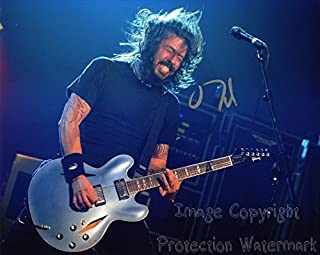 Dave Grohl Signed Autographed 8x10 Inch Photo Print