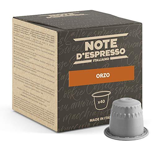 Note D'Espresso - Kapselmaschinen - ausschließlich Kompatibel mit Nespresso*- Gerste - 2,7g x 40