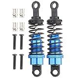 Tbest Amortiguador Trasero Delantero, amortiguadores de Metal RC compatibles con 1/18 SCX10 RC Crawler A959 L959 K959 A969