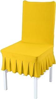 5b171077615 Amazon.com: yellow chair cover