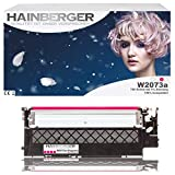 Hainberger - Tóner magenta con chip sustituye a HP W2073A, 117A para impresora Color Laser 150 150 A 150 NW I MFP 178 178NW 178NWG 179 179FNG 179FNW 179FWG