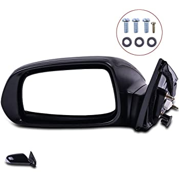 ECCPP Towing Mirrors High Performance Driver Side Mirror Replacement Left Side Mirror with Coupe Power Adjusted Signal Manual Folding for 2005-2010 Scion tC Base